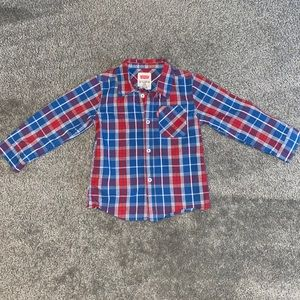 Levi's: Boy's Button Down Shirt (size: 24M)
